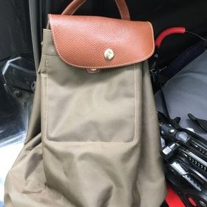 Longchamp backpack purse